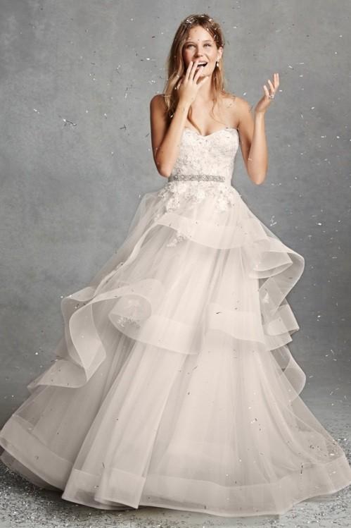 Monique Lhuillier свадебное платье фото 12