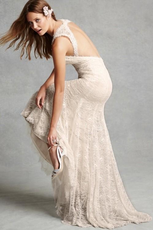 Monique Lhuillier свадебное платье фото 11