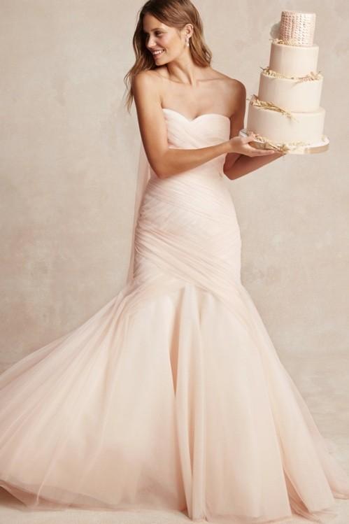 Monique Lhuillier свадебное платье фото 7