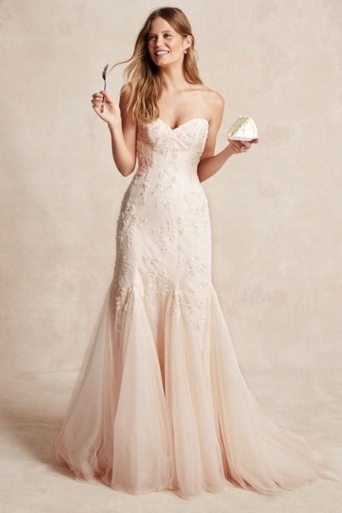 Monique Lhuillier свадебное платье фото 8