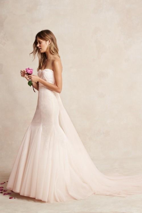 Monique Lhuillier свадебное платье фото 14