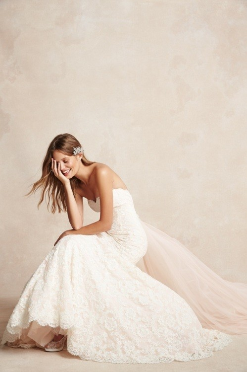 Monique Lhuillier свадебное платье фото 3