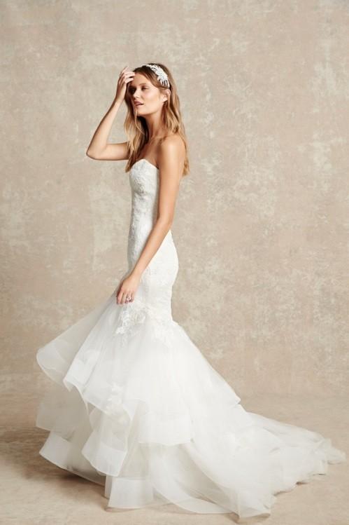 Monique Lhuillier свадебное платье фото 9