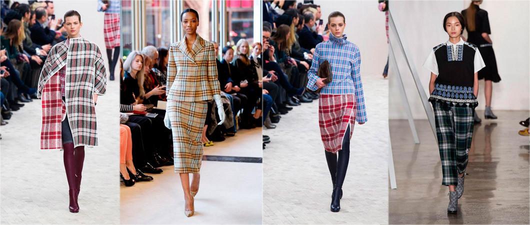 Английский стиль в одежде: «шотландская клетка» в коллекциях этого года