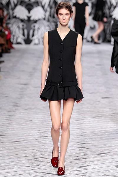 черный цвет в одежде коллекция Victor&Rolf фото 11