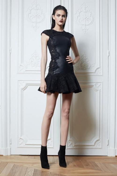маленькое черное платье Zuhair Murad