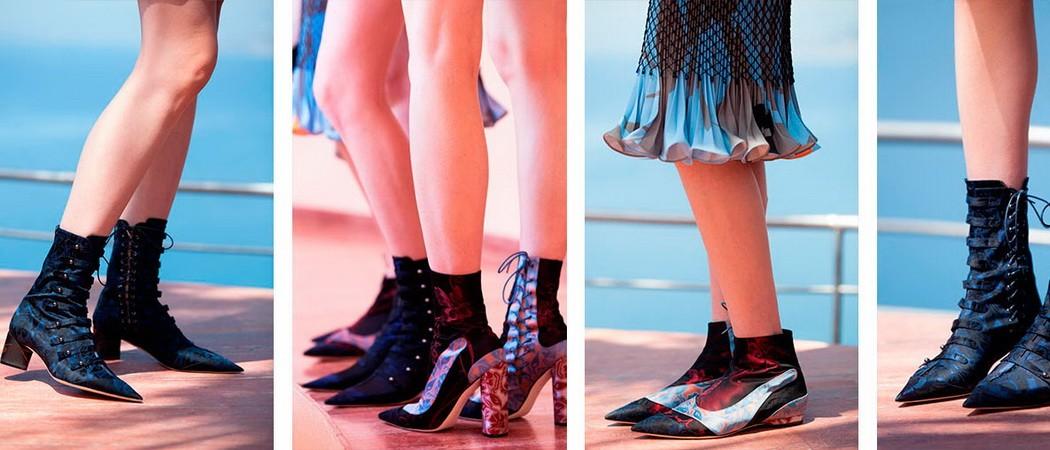 Обувь от Диор (Christian Dior) — коллекция 2016-2017