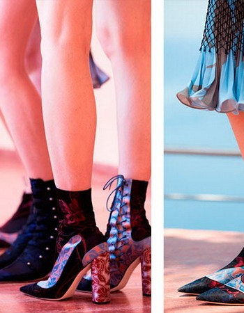 Обувь от Диор (Christian Dior) — коллекция 2017-2018