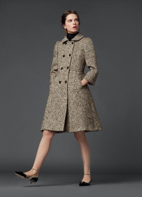 зимнее пальто Dolce&Gabbana