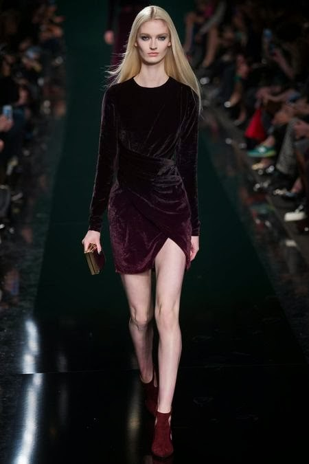 бархатное фиолетовое платье