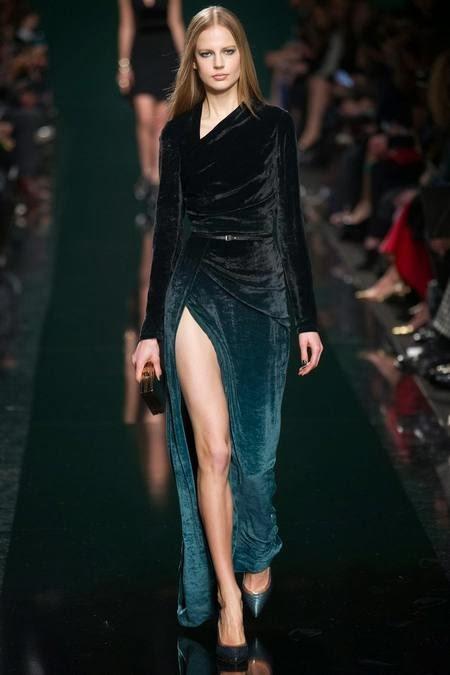 длинное бархатное бирюзовое платье