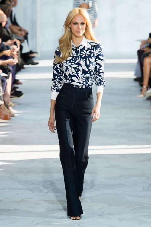 блуза и брюки: Диана фон Фюрстенберг