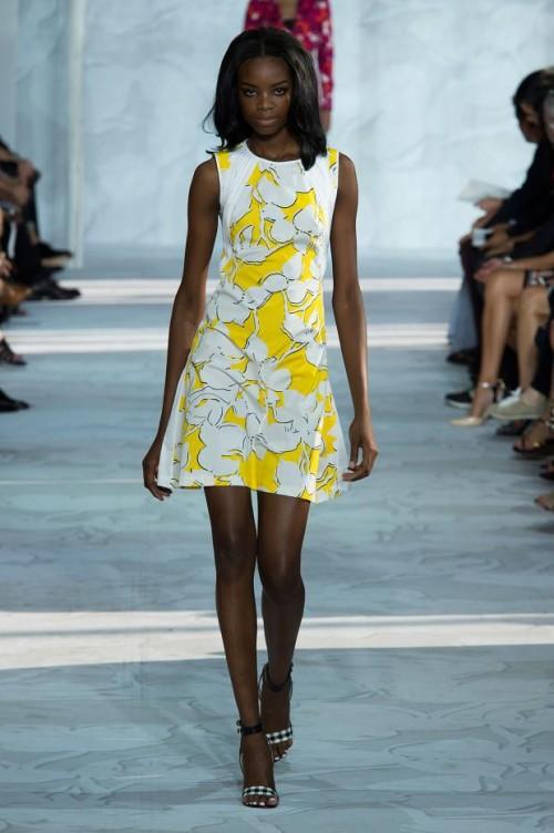 летнее платье в цветы: Диана фон Фюрстенберг