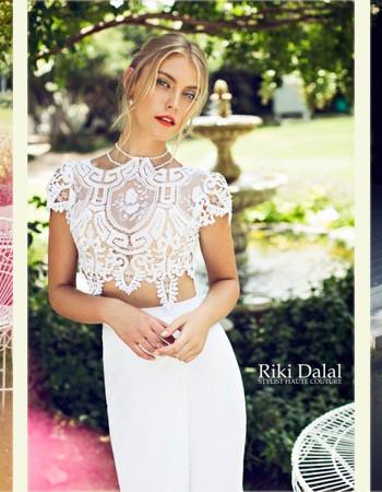 Кружевные свадебные платья: коллекция Riki Dalal (фото)