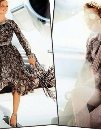 Кармен Педару в нарядах от Майкла Корса коллекция