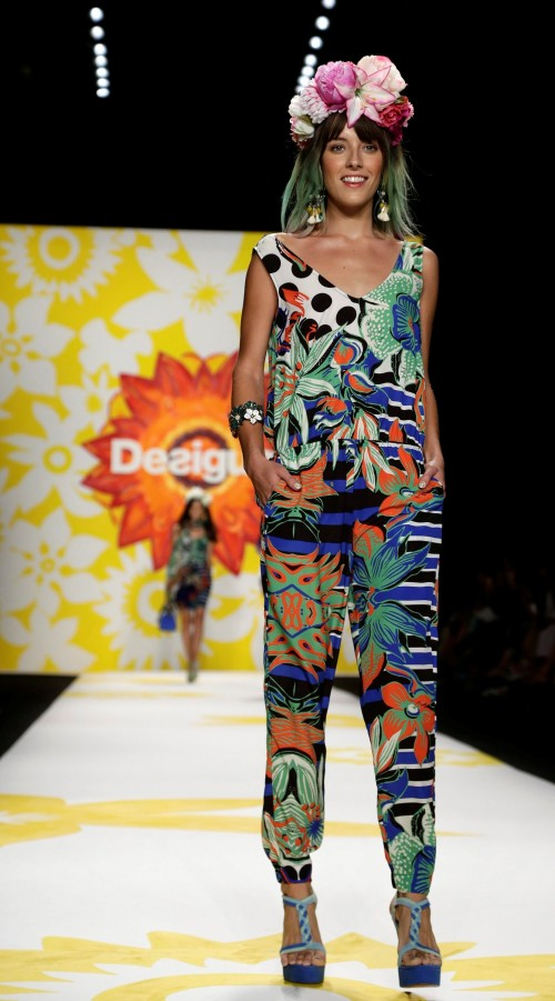 мода лето 2018 - коллекция Desigual фото 4
