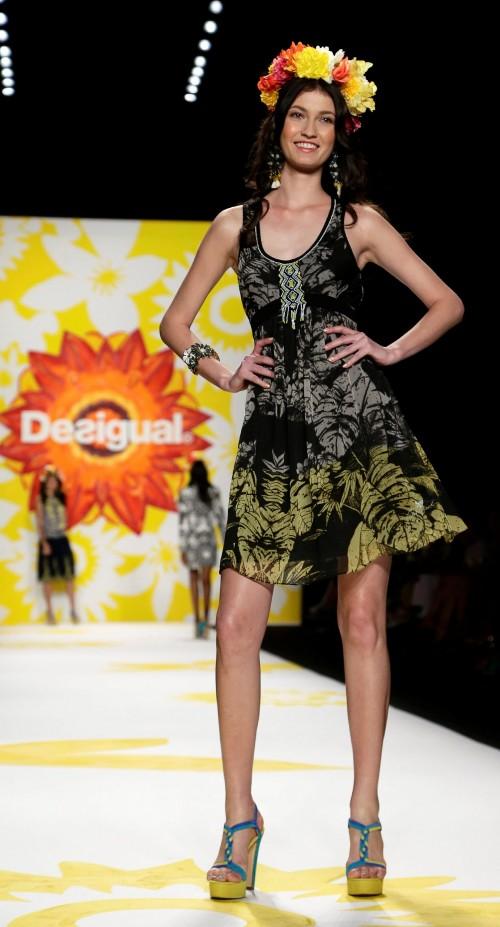 мода лето 2018 - коллекция Desigual фото 24
