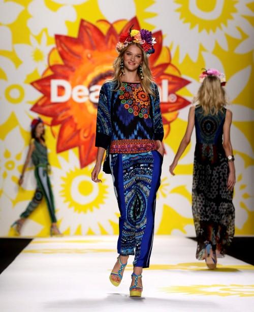 мода лето 2018 - коллекция Desigual фото 2