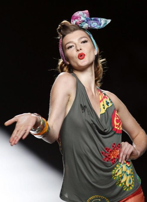 мода лето 2018 - коллекция Desigual фото 25
