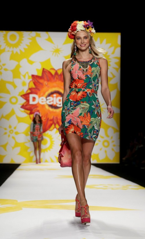 мода лето 2018 - коллекция Desigual фото 7