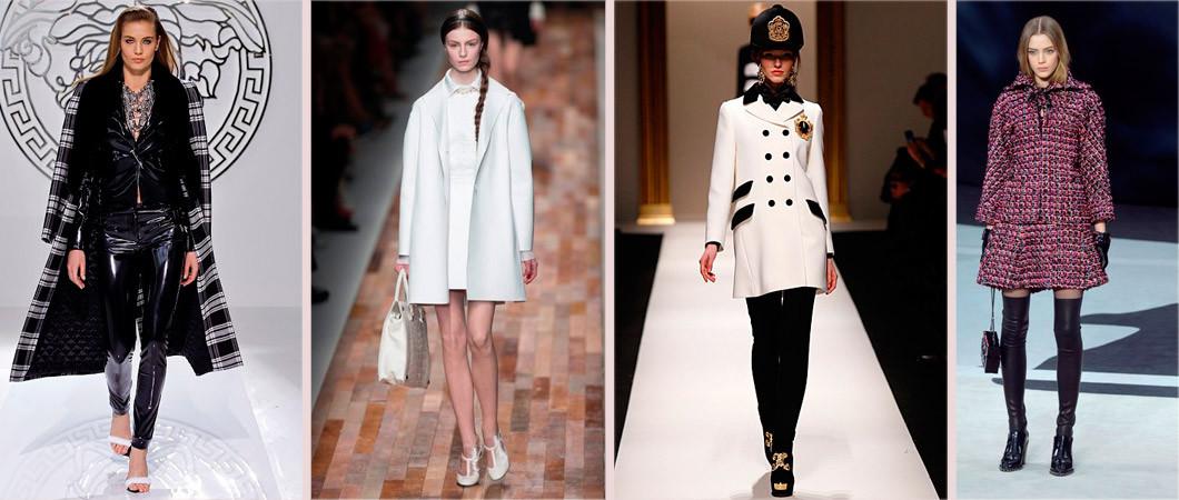 Модное пальто зима, осень 2016-2017: новинки от Versace, Gucci, Chanel…