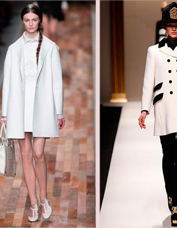 Модное пальто зима, осень 2017-2018: новинки от Versace, Gucci, Chanel…