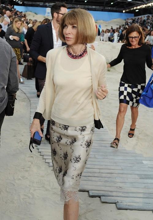 Анна Винтур в элегантном наряде