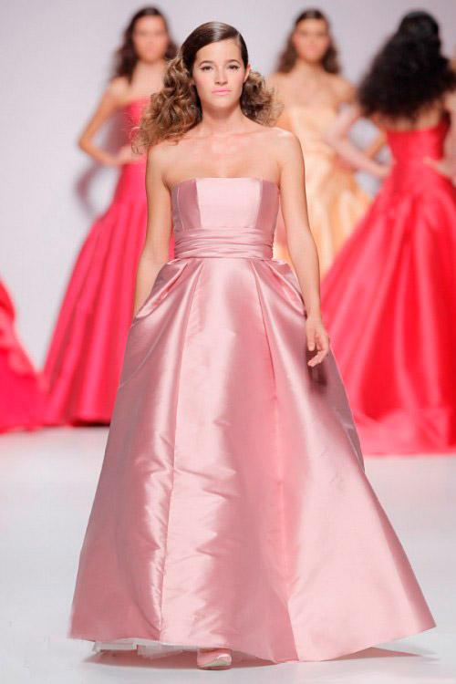 розовое свадебное платье Cymbeline