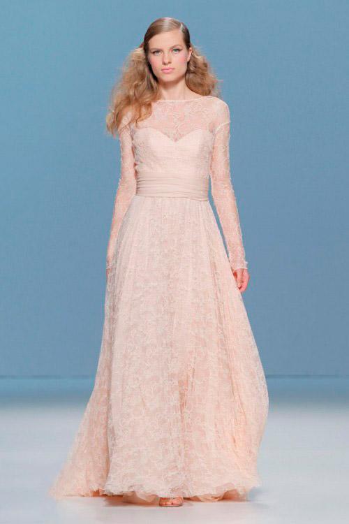 молочное свадебное платье Cymbeline
