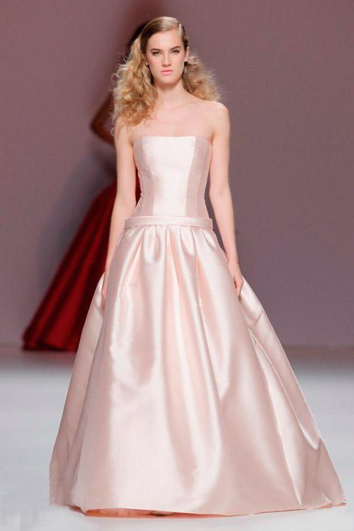 бледно розовое свадебное платье Cymbeline