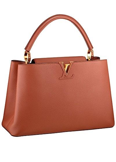 терракотовая сумка  от Louis Vuitton