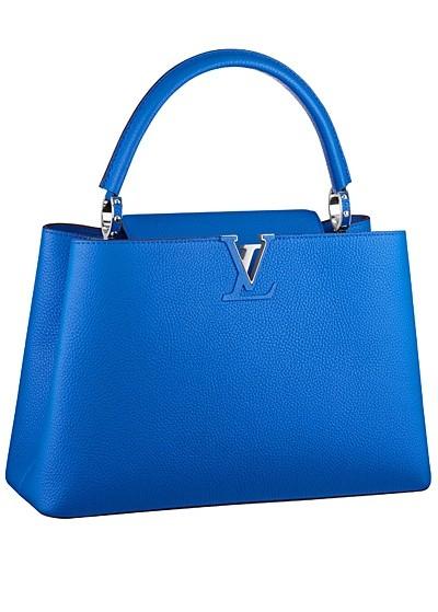 синяя сумка  от Louis Vuitton