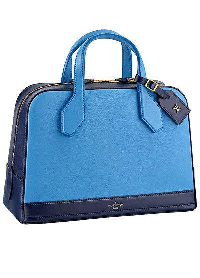 голубая с синим сумка  от Louis Vuitton