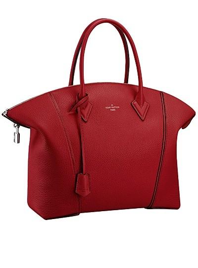 бордовая сумка  от Louis Vuitton