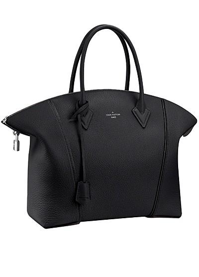черная сумка  от Louis Vuitton