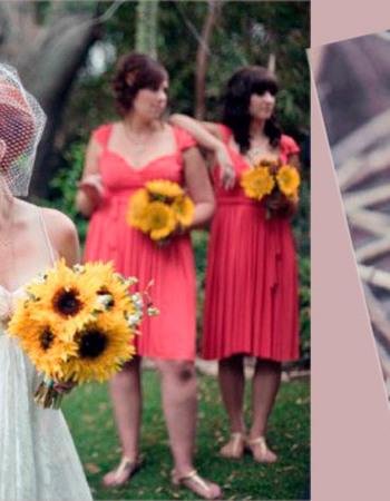 Осенний букет невесты: нотки романтики в свадебном стиле
