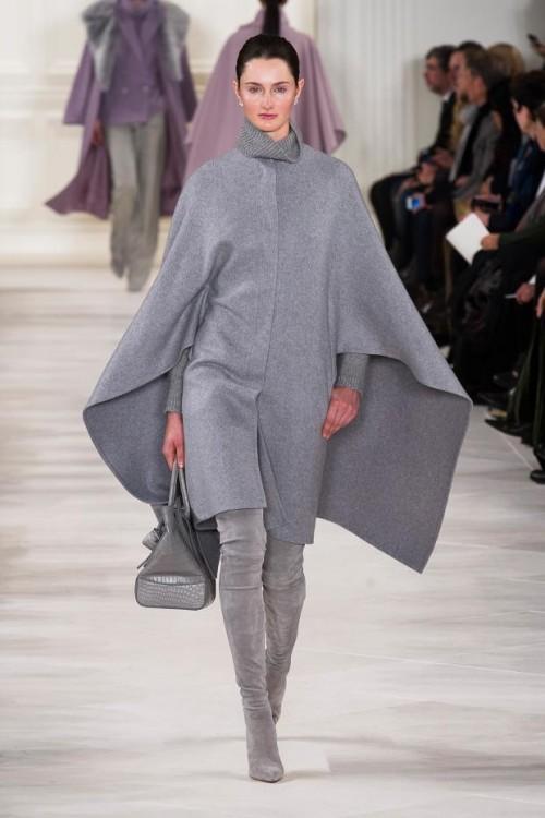 пальто - пончо