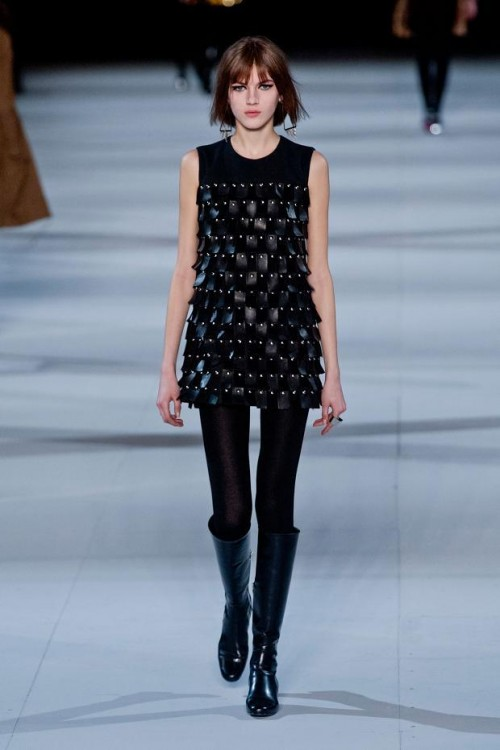 черная туника: стиль 60-х в одежде