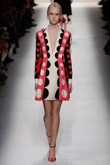 платье в крупный горох: ретро стиль в одежде