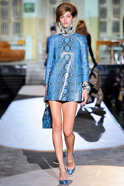 """стиль 60- х в одежде: платье в принт """"змеиная кожа"""""""