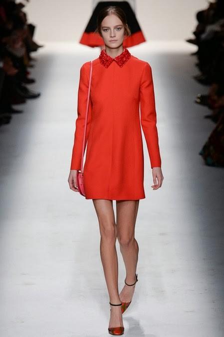 красное платье: ретро стиль в одежде