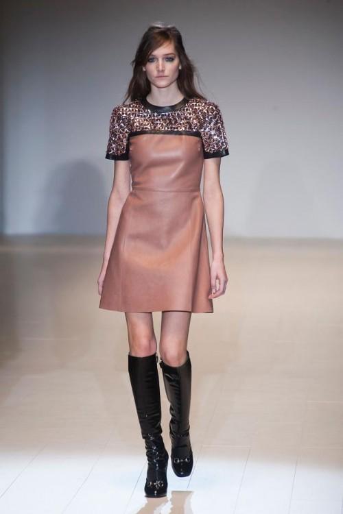 комбинированное платье: ретро стиль в одежде