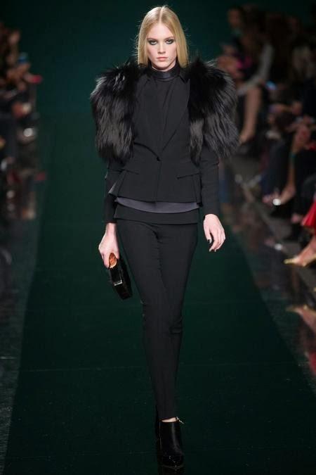 коротенькая черная модная шуба 2017