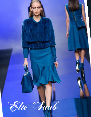 Сочетание синего цвета в одежде: Милан 2016-2017