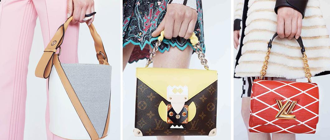 Новая коллекция сумок  от Louis Vuitton 2017