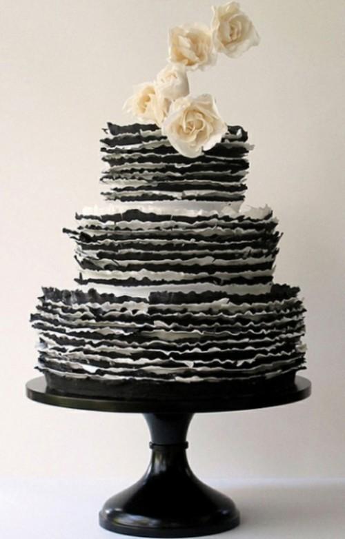 свадебный торт фото 21