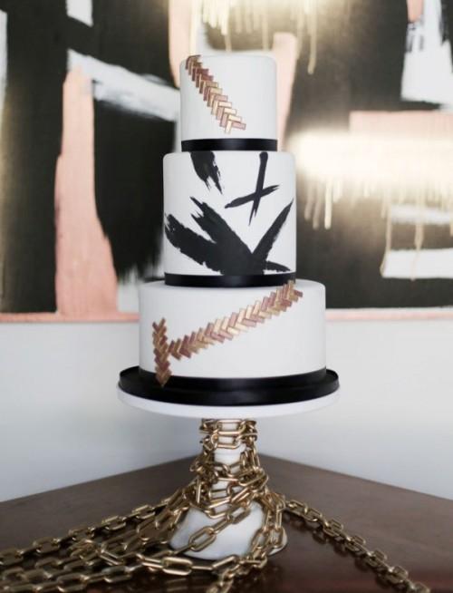 свадебный торт фото 9