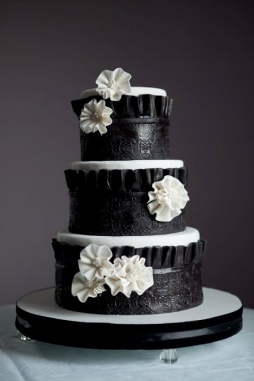 скин, вам торт в черно белом цвете фото отличие плеч, они