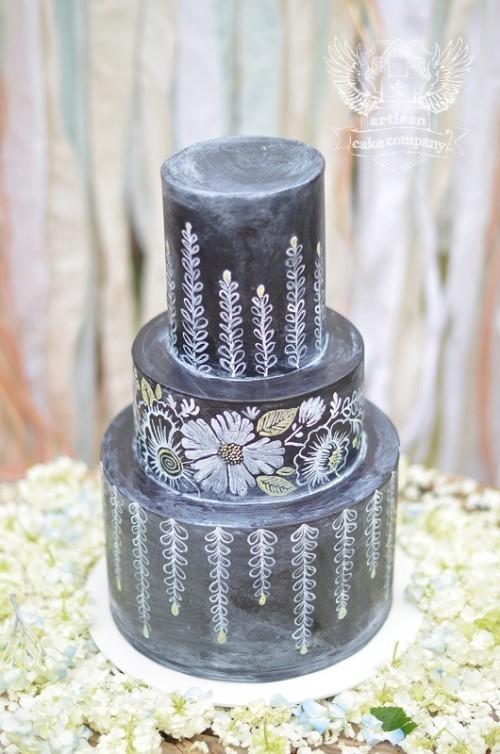 свадебный торт фото 8