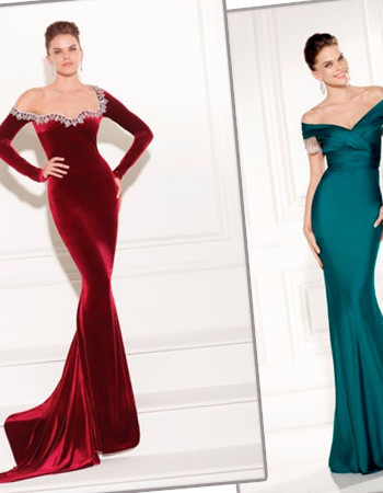 Платья Tarik Ediz: вечерняя коллекция